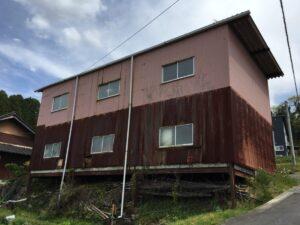 恵那市三郷町で2階建てを平屋にして欲しいとのご依頼を受けました。