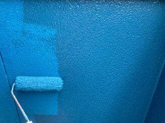 多治見市で屋根外壁塗り替え塗装工事 屋根フッ素 外壁シリコン 外壁上塗り塗装 防カビ材入り