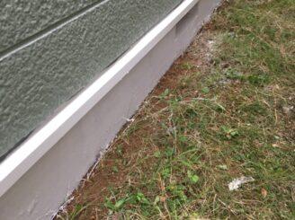 多治見市で屋根積み替え 外壁塗り替え塗装 ベランダ防水工事  リボール式 基礎塗り替え 基礎塗装 ベースガード 水切り塗装 水切り塗り替え