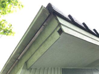 多治見市で屋根外壁塗装 屋根フッ素塗装 外壁シリコン塗装 塗り替え前