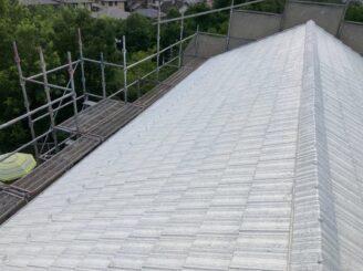 多治見市で屋根外壁塗り替え塗装 屋根フッ素塗料 外壁シリコン塗料 屋根下塗り塗装