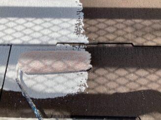 多治見市で屋根外壁塗り替え塗装 シリコン塗料で塗り替え  基礎に亀裂 樋に錆び 目地打ち替え 屋根くぎの飛び出し 釘浮き タスペーサー取付