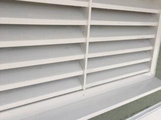多治見市で屋根積み替え 外壁塗り替え塗装 外壁上塗り塗装 雨樋塗り替え 樋塗装 飾り塗り替え 空気口