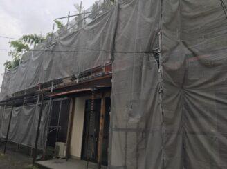 多治見市 瑞浪市で外壁一部塗装 お風呂交換工事 高圧水洗浄