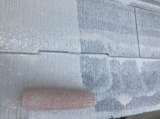 多治見市で屋根外壁塗り替え塗装 シリコン塗料で塗り替え  基礎に亀裂 樋に錆び 目地打ち替え 屋根くぎの飛び出し 釘浮き タスペーサー取付 屋根下塗り塗装