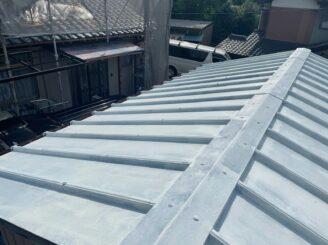 多治見市 瑞浪市で外壁一部塗装 お風呂交換工事 屋根塗り替え 下塗り塗装