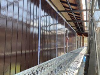 多治見市で外壁塗装 外壁張替え工事 雨戸塗り替え工事 塗り替え完成