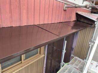 多治見市 瑞浪市で外壁一部塗装 お風呂交換工事 水切り塗り替え 小庇塗り替え