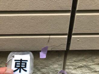土岐市 瑞浪市で外壁塗装 現調時のお家の状態 施工前 塗り替え前 フッ素塗料で塗り替え