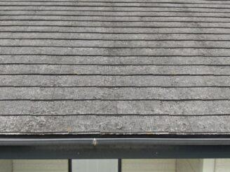 土岐市 瑞浪市 屋根外壁塗り替え塗装工事 屋根塗膜の剝がれ 色の退色 フッ素塗料