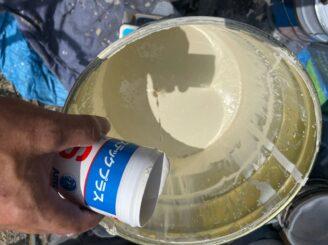 土岐市 瑞浪市 屋根外壁塗り替え塗装工事 外壁上塗り塗装 超低汚染プラチナリファイン2000MF フッ素塗料 低汚染性 防カビ材 アステックプラスS カビ 苔 コケ カビ 菌類 死滅 発生を抑える 防カビ