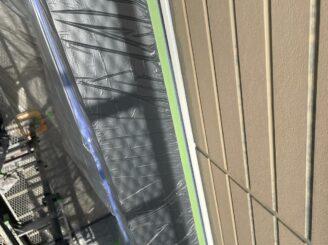 土岐市 瑞浪市で外壁塗装 現調時のお家の状態 施工前 塗り替え前 フッ素塗料で塗り替え 外壁に汚れ汚れ 亀裂 チョーキング現象 基礎亀裂 バイオ洗浄 高圧水洗浄 高圧洗浄 養生完成 縦目地打ち替え 増し打ち