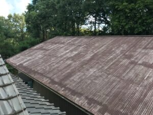 多治見市で屋根の塗り替え塗装工事が完成しました!